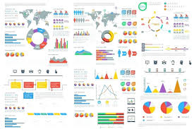 Financial Infographic Template Template Annual Report