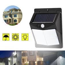 Outdoor Lighting Security Lights 50 Led Solar Powered Pir Motion Sensor Wall Security Light Garden Outdoor Lamp