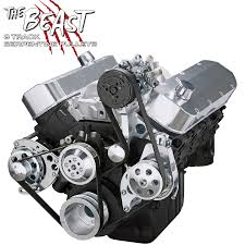 Chevy Big Block Serpentine Conversion Kit for AC & Power Steering ...