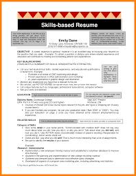 4 Skills Based Resume Sample Janitor Resume