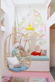 Pastel Children Room With Hanging Furniture