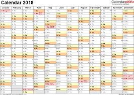 microsoft excel calendar excel calendar 2018 uk 16 printable templates xlsx free