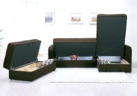furniture with storage space. Sofa Beds With Storage Space Smart Furniture Compartment Saving Filled Media