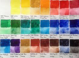 Matisse Colour Chart Acrylics Artdragon86