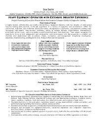 Forklift Operator Skills Resume For Objective Socialum Co