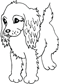 coloring pages cute dogs puppy coloring pages printable spaniel puppy coloring page coloring cute dog coloring