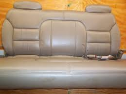 1995 1996 1997 1998 1999 chevy tahoe gmc yukon chevy suburban leather 3 rd row bench seat