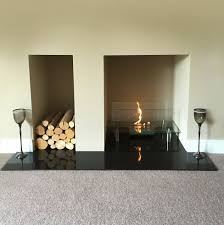 bioethanol fireplace fireplace screens menards amish heaters at