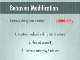 week behavior modification and overcoming barriers to exercise  week 4 behavior modification and overcoming barriers to exercise