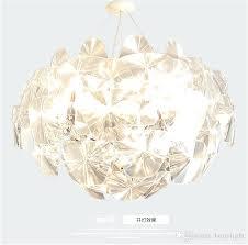 glass flower chandelier modern crystal chandelier lamp art glass leaf plates flower chandelier led ball pendant glass flower chandelier