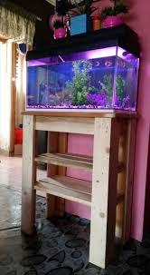 furniture fish tanks. Pallet Fish Tank Stand Furniture Tanks I