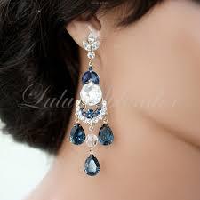 114 best earrings images on chandelier earrings blue pertaining to modern house dark blue chandelier earrings remodel