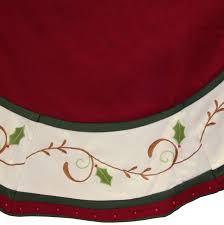 tree skirts red velvet tree skirt t18