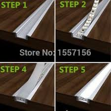 how to install cove lighting. LED Recessed Strip Lights With Aluminum Channel And Plastic Lens · Cove LightingIndoor How To Install Lighting
