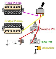 guitar tone knob customization neck only? Electric Guitar Wiring Volume And Tone regular 2 humbucker 1 volume 1 tone wiring Guitar Wiring For Dummies