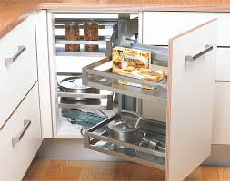 corner kitchen furniture. Beautiful Corner Kitchen Corner Organizers U0026 Carousel Pull Out Unit Manufacturers New Delhi  IndiaModular Interior Design Modern Basket Cabinet Fittings  With Furniture O