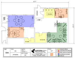 corporate office layout. 1200x921 Cubicle Layout For 6 Cubicles, 1 Large Private Office, Common Corporate Office R