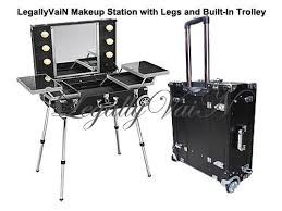 pictures of makeup station lightbox trolley with legs for philippines benefit beauty sets and studio