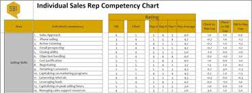 Sbi Chart Individual Sales Rep Competency Chart Template Sbi Download