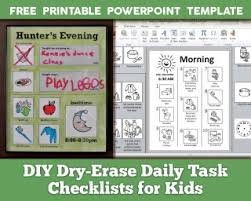 025 Daily Activity Chart Template Staggering Ideas Routine