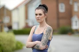 Charlotte Barnes felt humiliated after violent ex boyfriend.