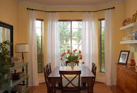 Great Bay Window Treatments For Kitchen Pretty Kitchen Curtains Bay Window