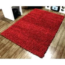 solid red runner rug gy