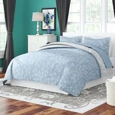 blue grey white duvet cover home reversible set reviews