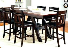 black counter height dining set 9 piece counter height dining set espresso counter height table medium