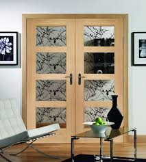 interior clear glass door. Internal Double Glass Door 4 Panel Shaker Clear Interior