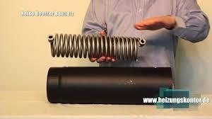 Abgaswärmetauscher Bausatz Water Heat Exchanger Für