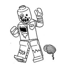 Small Picture Top 20 Zombie Coloring Pages For Your Kids