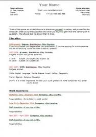 Download a free, functional resume template aimed at University students  looking for work experience and also graduates.