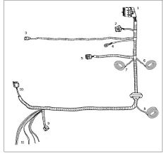 how to install a ford racing 4 6l 3v crate engine control pack on Ford 4 6 Engine Swap Wiring Harness either location is acceptable as long as all connectors are able to mate without excessive strain on the harness wiring DOHC 4.6 Wiring Harness