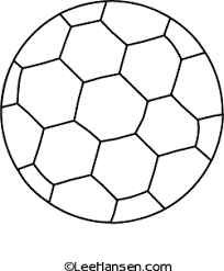 Small Picture Sports Soccer Ball Coloring Page