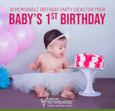 10 memorable birthday party ideas for