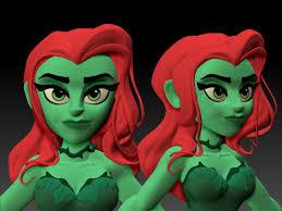ArtStation - Poison Ivy, Henry Vargas