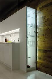 counter and shelf lighting in a sleek stylish kitchen using flexible led light strips and