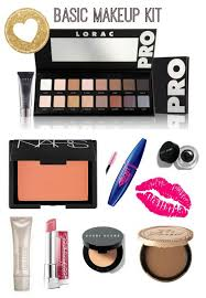 list basic makeup kit belleza item