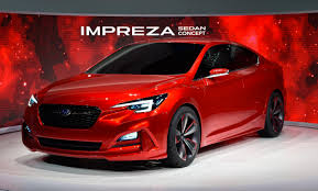 Subaru Impreza Sedan Preview Concept Makes World Debut in LA ...