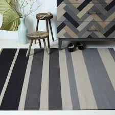 cotton dhurrie area rugs inspirational bold stripes march across durable cotton punching up the floor with wamconvention