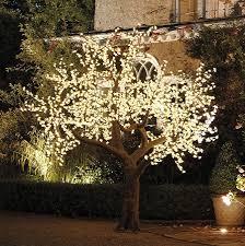 Illuminated Decorative LED Tree: warm white, 3m