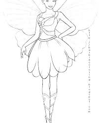Fairy Coloring Pages Free Coloring Book Themes Stampsnowinfo