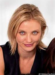 actresses cameron diaz top drew barrymore right and lucy liu pose in