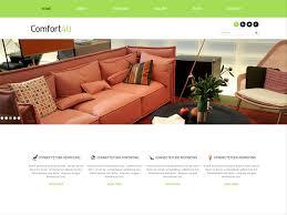 best furniture websites design. Comfort Is A Free Responsive Best Bootstrap Template For Interior Shops,  Designers, Furniture Decorators. Websites Design