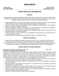 Hr Resume Examples Executive Resume Sample Hr Executive Resume ...