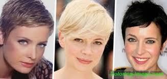 účes Garcon Pro ženy Pro Krátké Vlasy Typy S Fotografiemi Kteří By