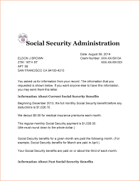 social security award letter 2014 cover letter example throughout ssi award letter