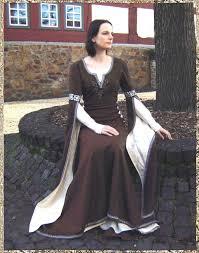 Zweiteiliges Kleid Vivienne Mittelalterkleid Berkleid