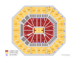 Seating Charts Colonial Life Arena